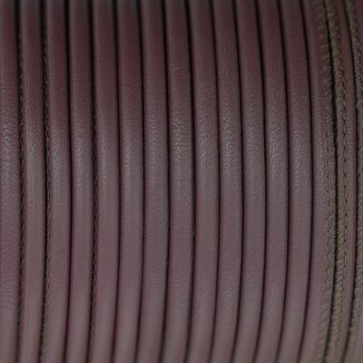 Premium Nappaleder rund gesäumt, 100cm, 4mm, MARSALA