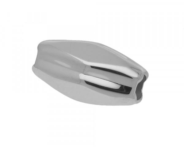 Magnetverschluss, 6mm, 25x14mm, Edelstahl, silberfarben