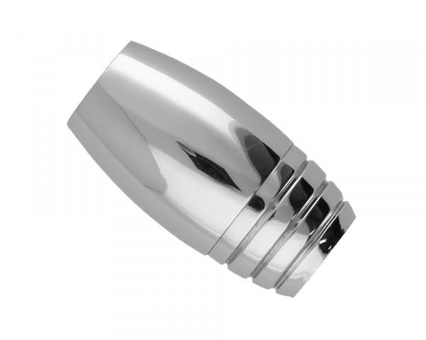 Magnetverschluss, 5mm, 19x10mm, Edelstahl, silberfarben