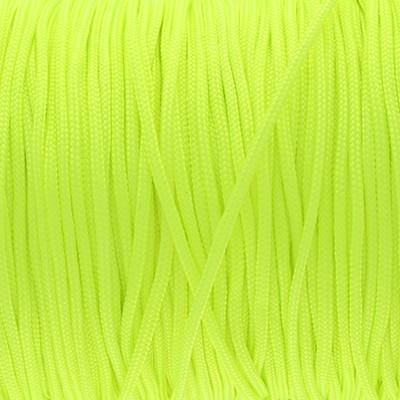 Schmuckband (100cm), 1,5mm, rund, neon GRÜN