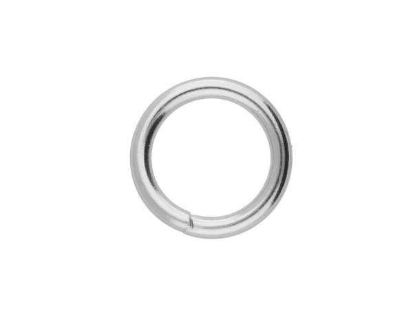 Bindering, rund, 10 Stück, 10x1,4mm, innen 7mm, Edelstahl