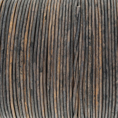 Rundriemen, Lederschnur, 100cm, 1mm, BERING SEA VINTAGE