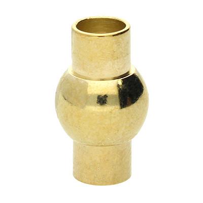 Magnetverschluss, 5mm, 17x9mm, goldfarben