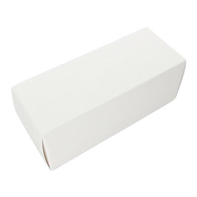 Geschenkverpackung, 100x40mm, Kraftpapier, WEISS