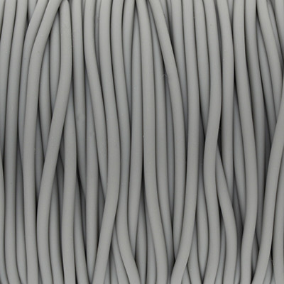 PVC Band (100cm), 2,0 mm breit, grau