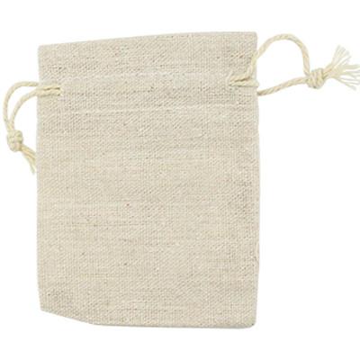Geschenkbeutel aus 100% Jute, 10x15cm, naturfarben
