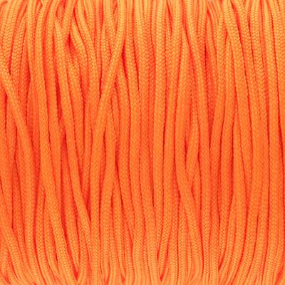 Schmuckband (100cm), 1,5mm, rund, neon orange