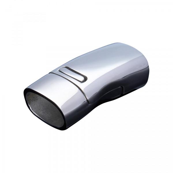 Magnetverschluss, 26,5x13x9,5mm, innen 11x7mm, silberfarben, Edelstahl