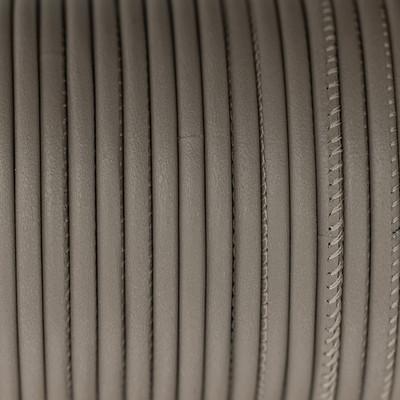 Premium Nappaleder rund gesäumt, 100cm, 2,5mm, TAUPE