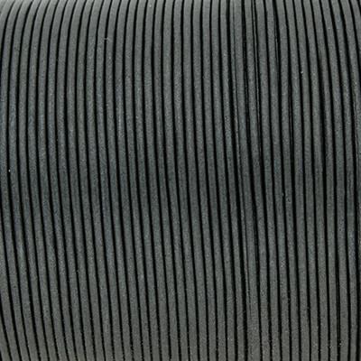 Rundriemen, Lederschnur, 100cm, 1mm, METALLIC URBAN CHIC