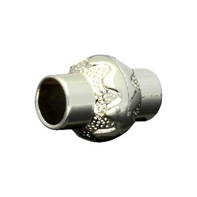 Magnetverschluss, 5mm, 17x12mm, Acryl, goldfarben
