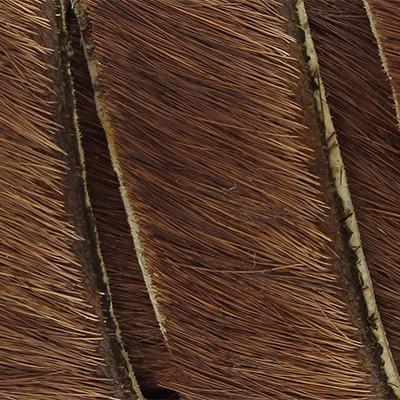 flaches Lederband aus Kuhfell 5x2mm - DUNKELBRAUN, glatte Rückseite aus Nappaleder