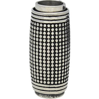 Magnetverschluss, 8mm, 31x14mm, Edelstahl, silberfarben