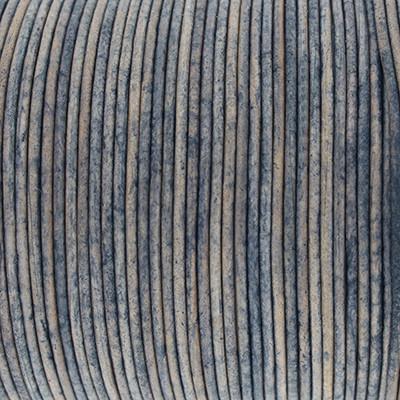 Rundriemen, Lederschnur, 100cm, 1,5mm, STORMY WEATHER VINTAGE