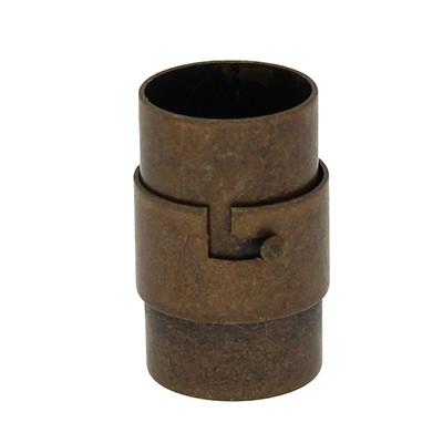 Magnetverschluss, 10mm, 19x12mm, Metall, kupferfarben