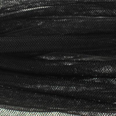 Mesh-Schlauch, Kunststoff, 8mm, 100cm, schwarz