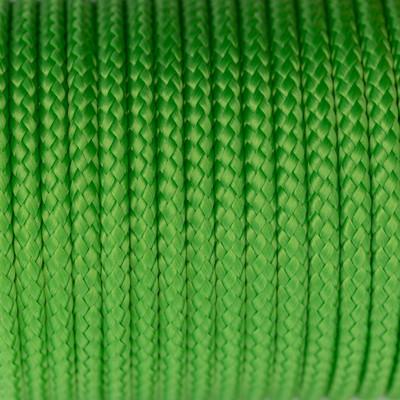 Segeltau, Reepschnur, 100cm, 5mm, SIGNALGRÜN100% Polypropylen (PP)