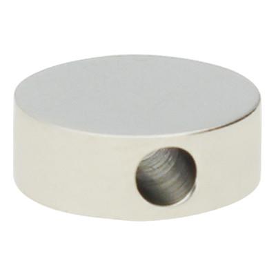 """Perle """"Kreis"""", innen 1,8mm, 8mm, silberfarben, Edelstahl"""