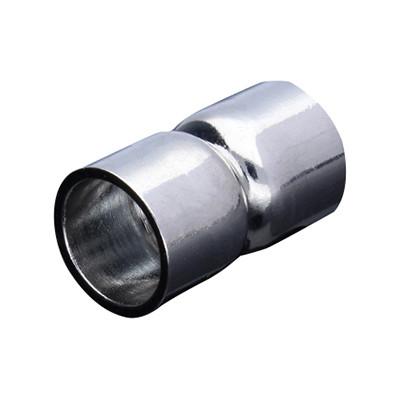 Magnetverschluss, 9mm, 18,5x11mm, Metall, platinfarben