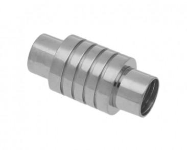 Magnetverschluss, innen 6mm, 20,5x10mm, Edelstahl