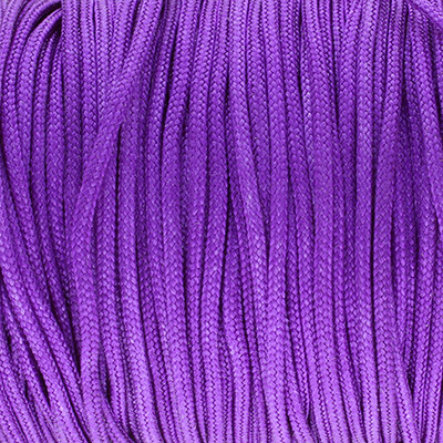 Schmuckband, Textil-Band   Ø 1,5 mm   LILA