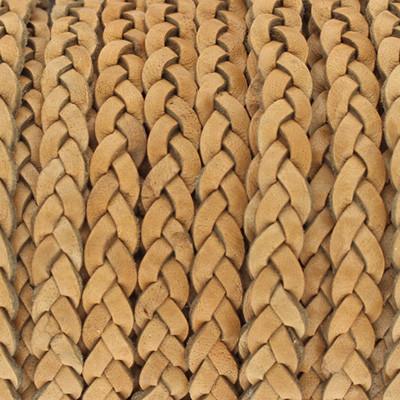 Flachriemen Rindsleder, 100cm, 5x2,7mm, NATUR