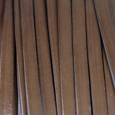Flachriemen Rindsleder, 100cm, 10x1,5mm, CAPPUCCINO
