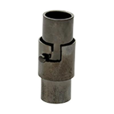 Magnetverschluss, 5mm, 15x7mm, Metall, schwarz