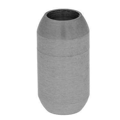 Magnetverschluss, 6mm, 19x10mm, Edelstahl, silberfarben