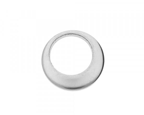 Zierring, 10x1 mm, innen 7mm, Edelstahl