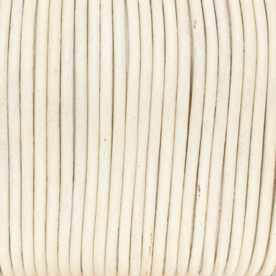 Rundriemen, Lederschnur, 100cm, 1mm, METALLIC PERLMUTT