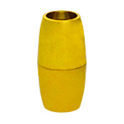 Magnetverschluss, 5mm, 16x8mm, Metall, goldfarben