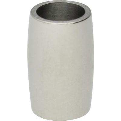 Magnetverschluss, 6mm, 14x9mm, Edelstahl, silberfarben