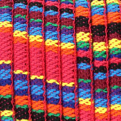 Ethnoband aus Baumwolle, 100cm, Ø 6mm breit, MULTICOLOR MIX