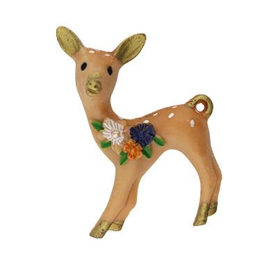 Anhänger, Bambi, 45x26x13mm, Acryl